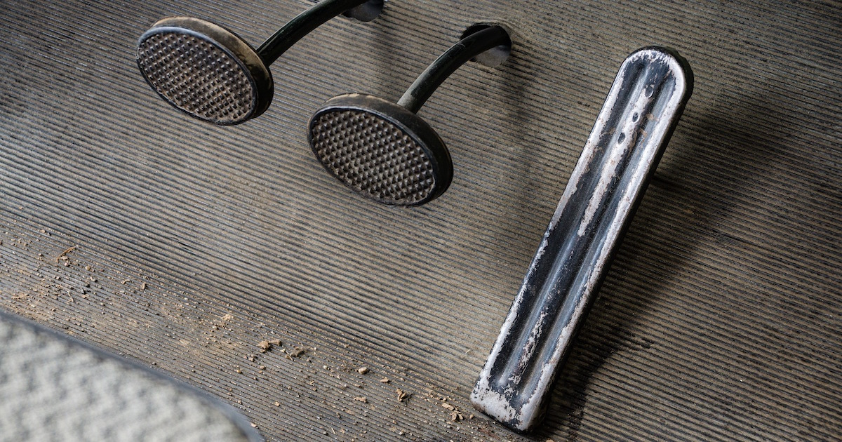 truck brake pedal