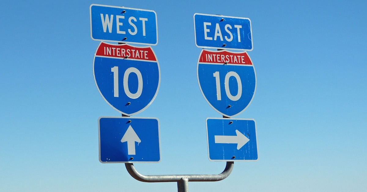 i-10 in AZ, one of the most dangerous roads for commercial truck drivers