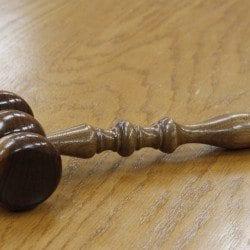 a gavel representing the ELD mandate ruling