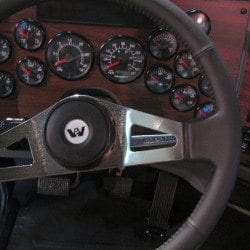 western star steering wheel