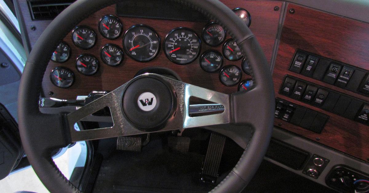 western star steering wheel