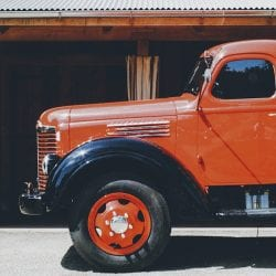 pickup truck using an eld