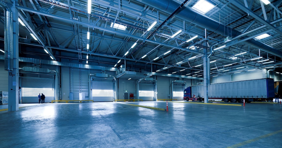 an empty hangar from a fleet that couldn't retain their truck drivers