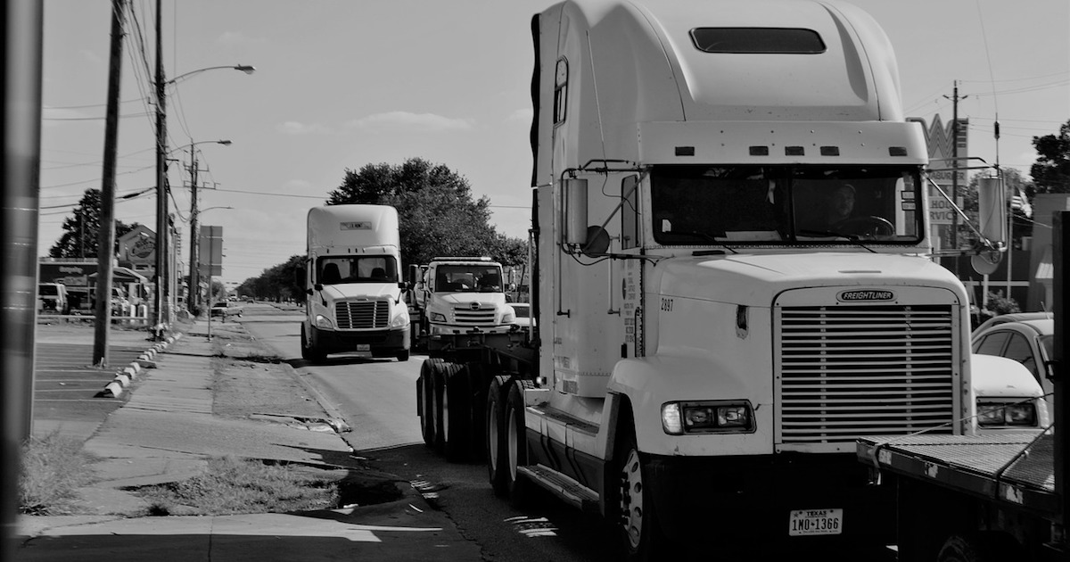 trucks stopped worried about ELD enforcement
