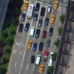 a road filled with drivers taking advantage of the benefits that come with expanding telematics usage