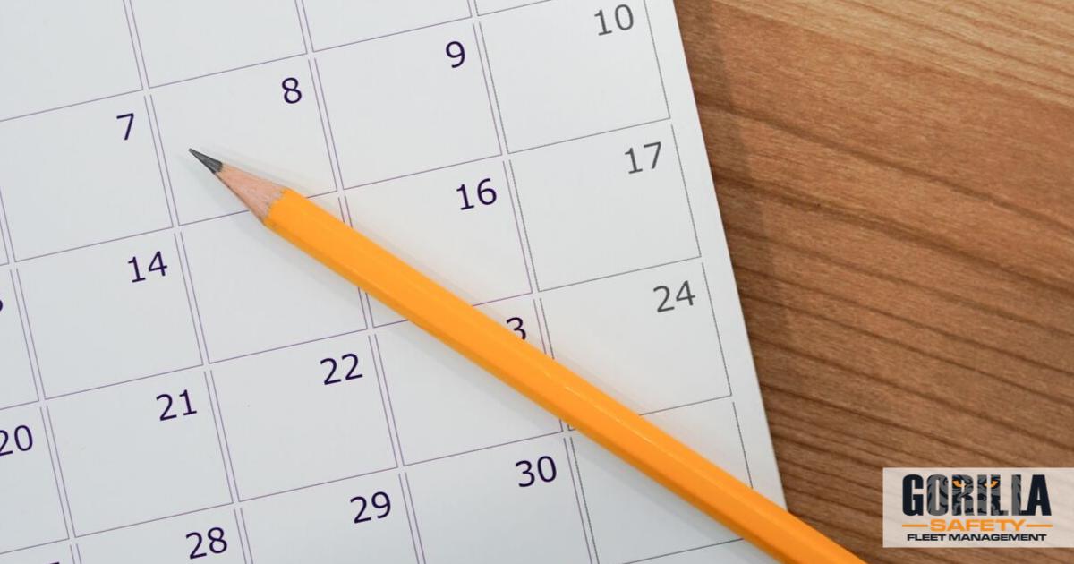 eld mandate deadline on calendar