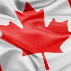 canadian flag representing the canadian ELD
